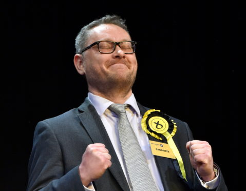 Richard Thomson became MP for Gordon in the December UK General Election. Picture: Kenny Elrick