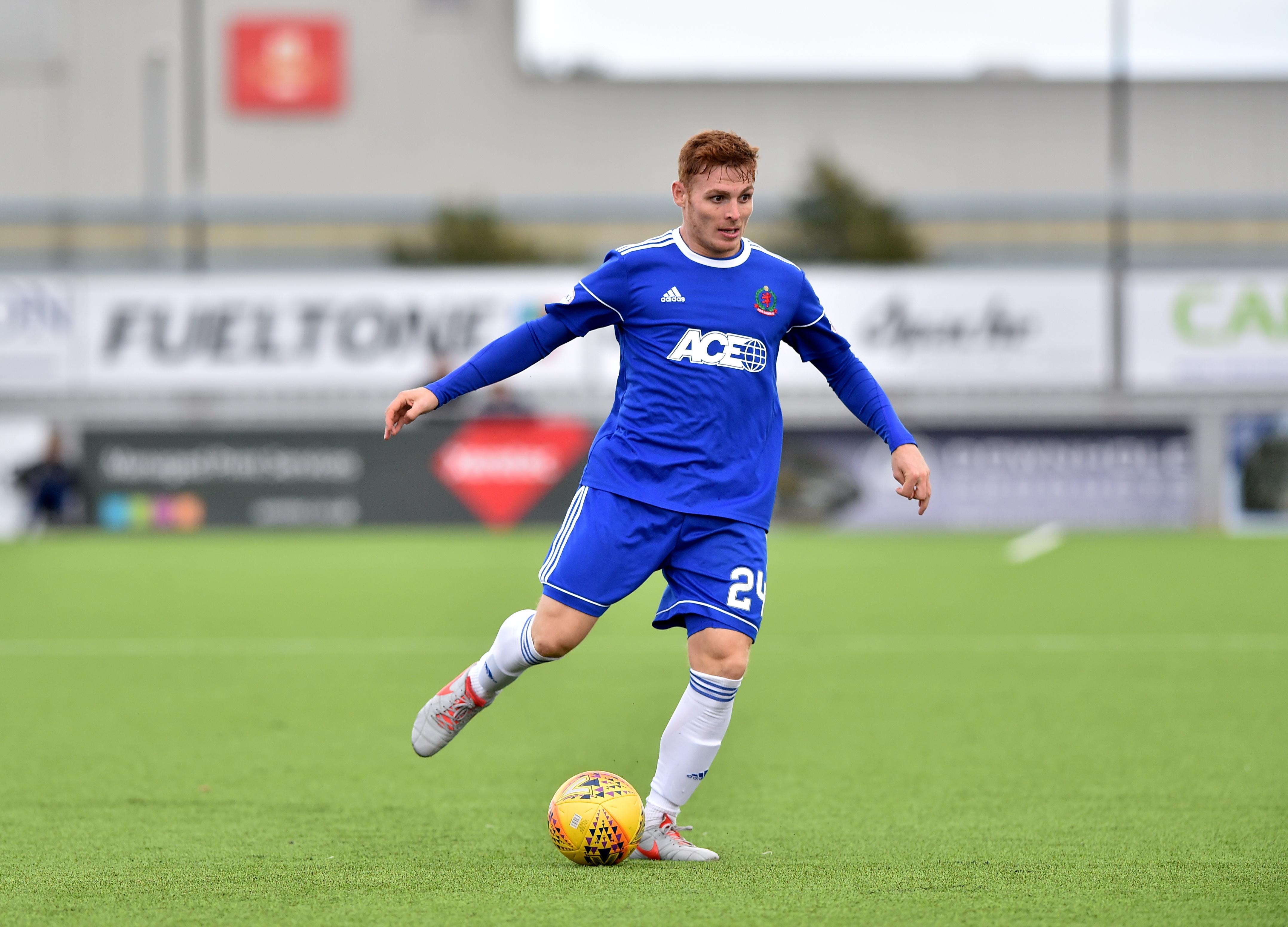 Cove Rangers midfielder Fraser Fyvie.