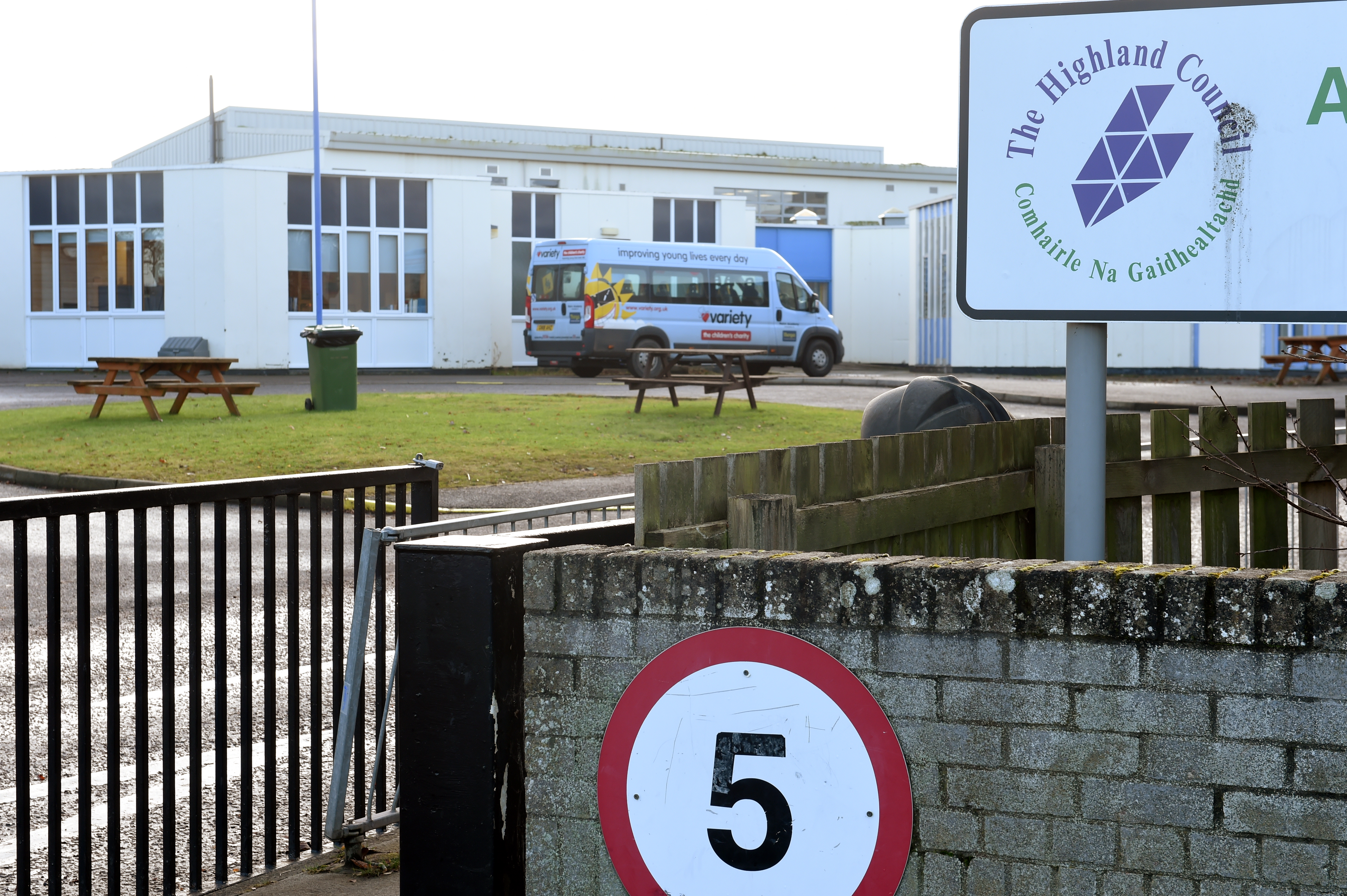 Nairn Academy . Picture by Sandy McCook
