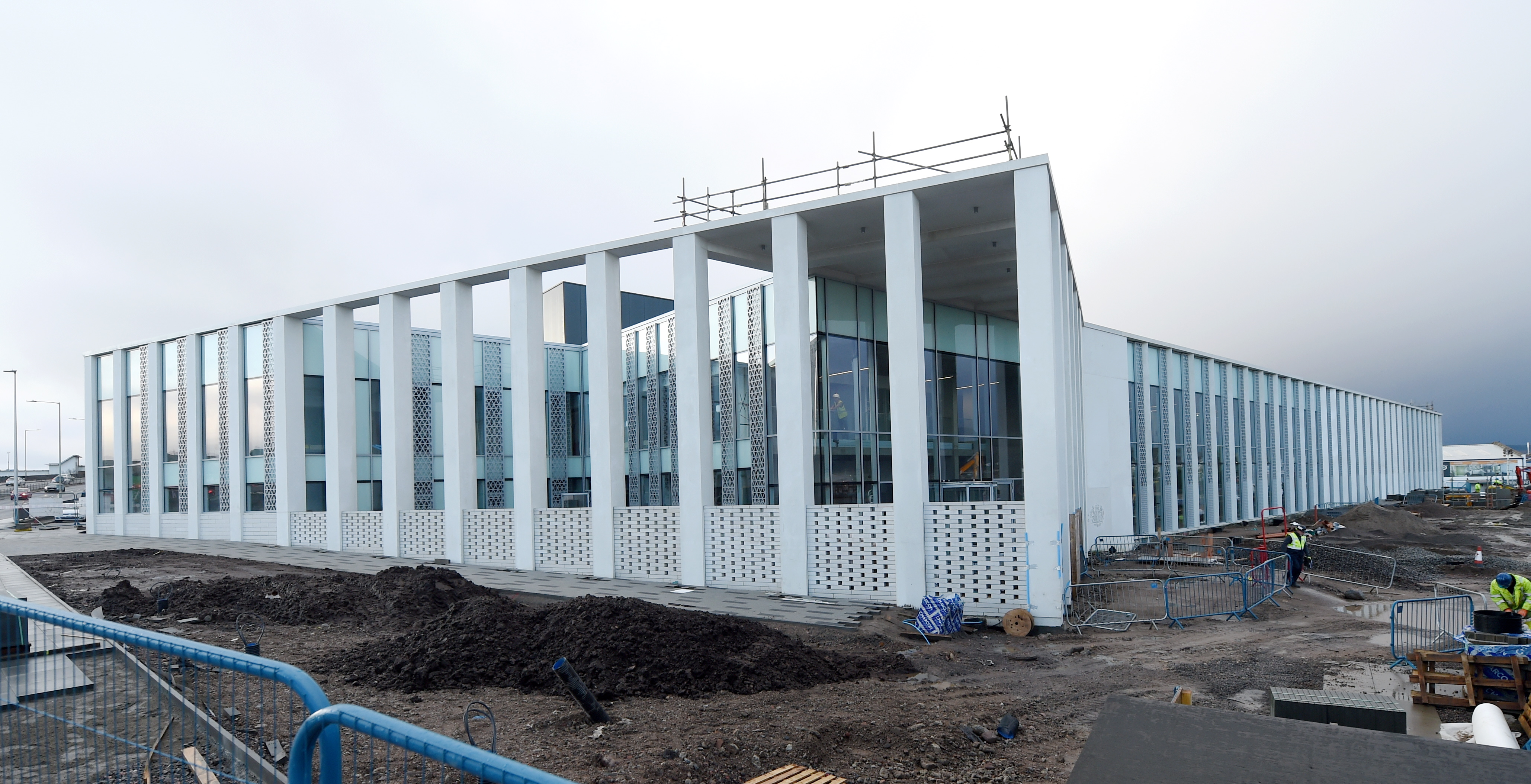 The new Inverness Justice Centre, currently under construction, has been given an opening date of March '30th 2020.
