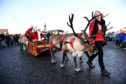 BANFF'S SPOTTY BAG SHOP ANNUAL REINDEER PARADE