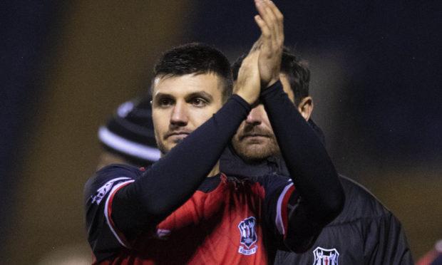Elgin City defender Matthew Cooper.
