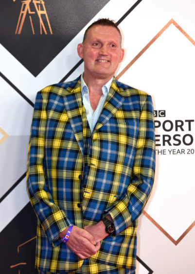 Doddie Weir arriving for the BBC Sports Personality of the year 2019 at The P&J Live, Aberdeen.