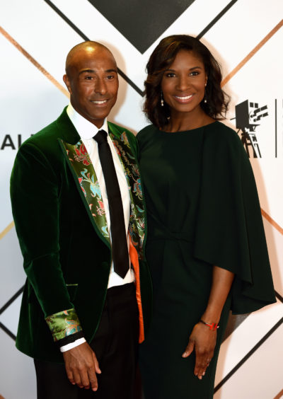 Colin Jackson and Denise Lewis arriving for the BBC Sports Personality of the year 2019 at The P&J Live, Aberdeen.