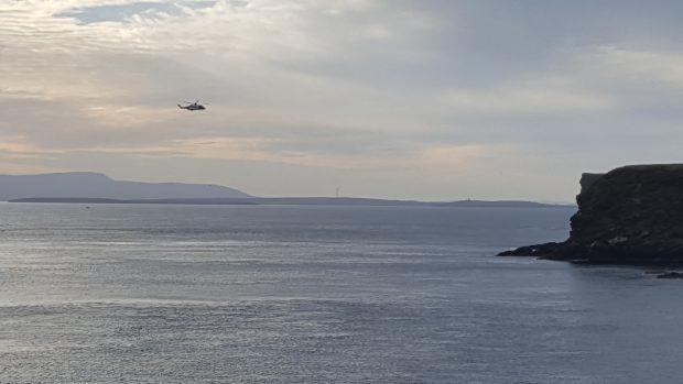 Scapa Flow near Orkney.
