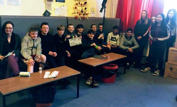 The team at Hazlehead Academy