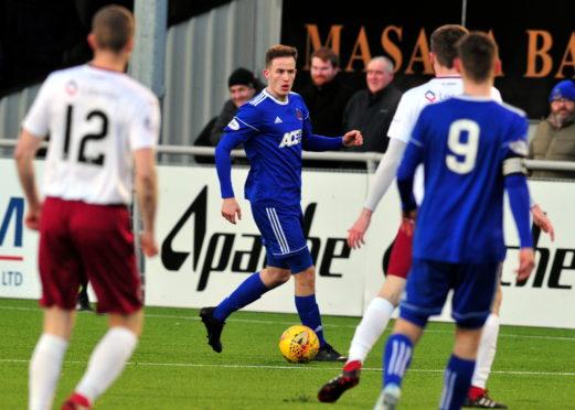 Tom Leighton made his Cove Rangers debut last weekend.
