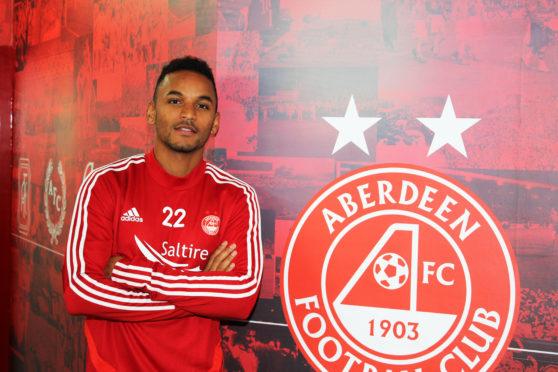 Aberdeen midfielder Funso Ojo.
