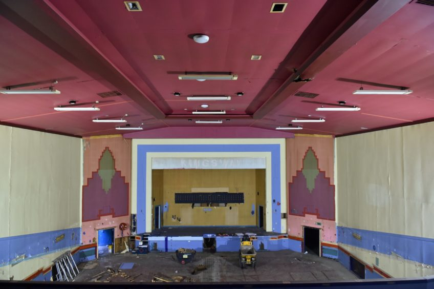 The cinema in Peterhead. Picture by Colin Rennie.