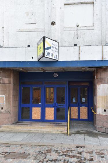Peterhead cinema. Picture by Colin Rennie,