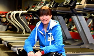 Kerry Smith, Warehouse  Gym, Aberdeen.  Picture by Jim Irvine