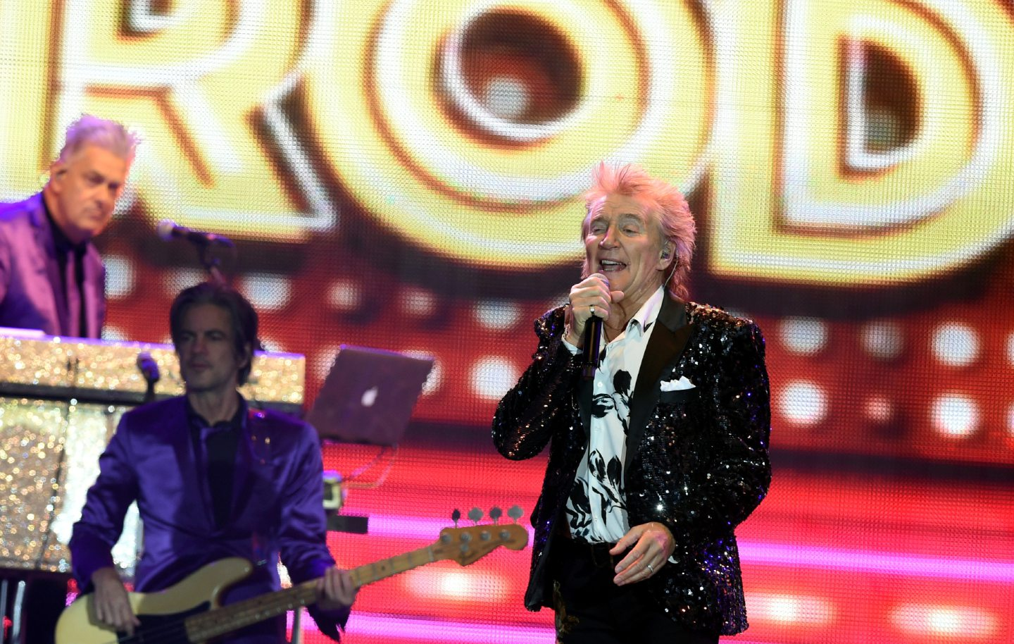 Rod Stewart in concert at P&J Live, Aberdeen.  .  Picture by Jim Irvine