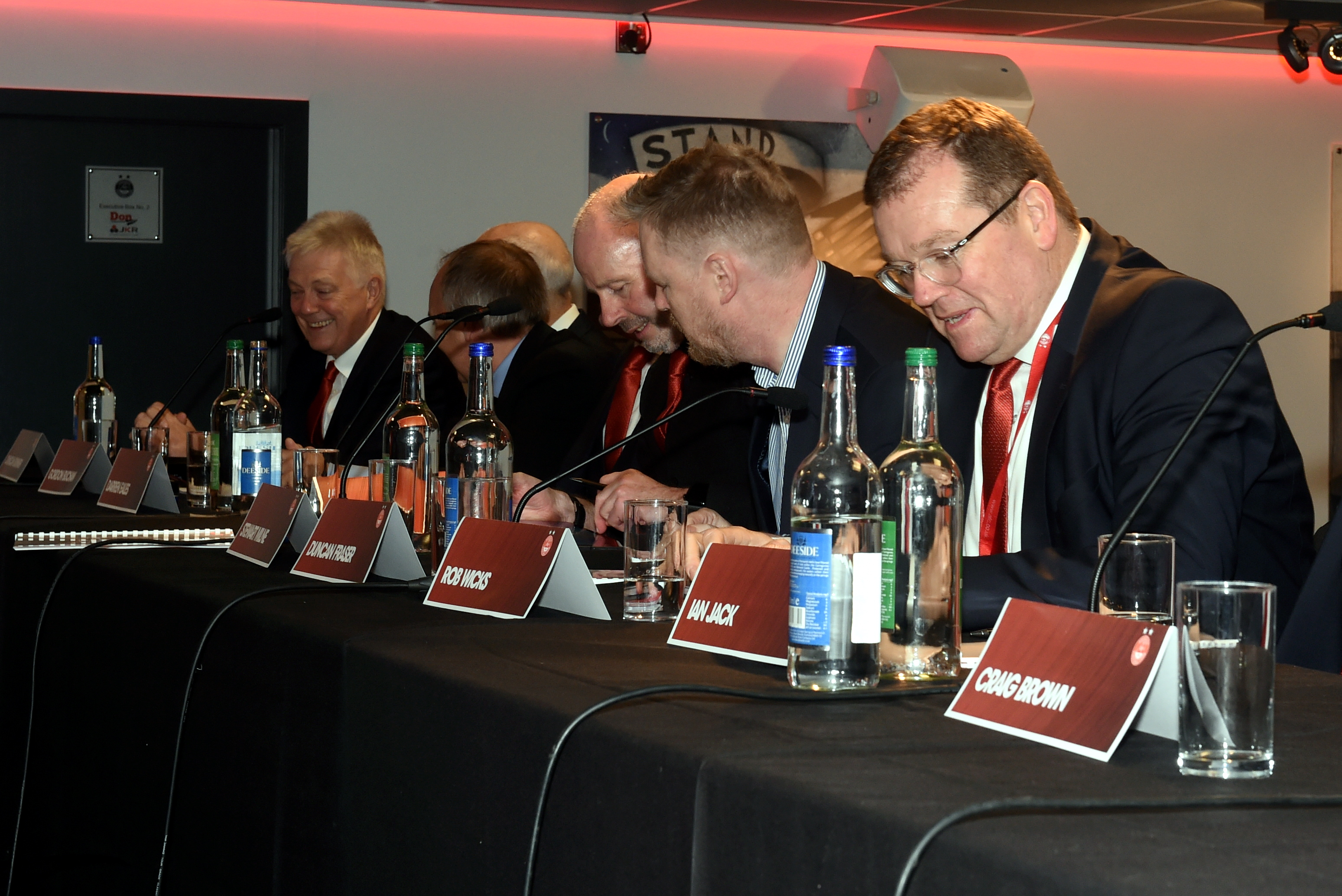 Aberdeen annual general meeting took place on Monday. Picture by Jim Irvine