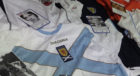Jerseys used as part of the Football Memories programme.