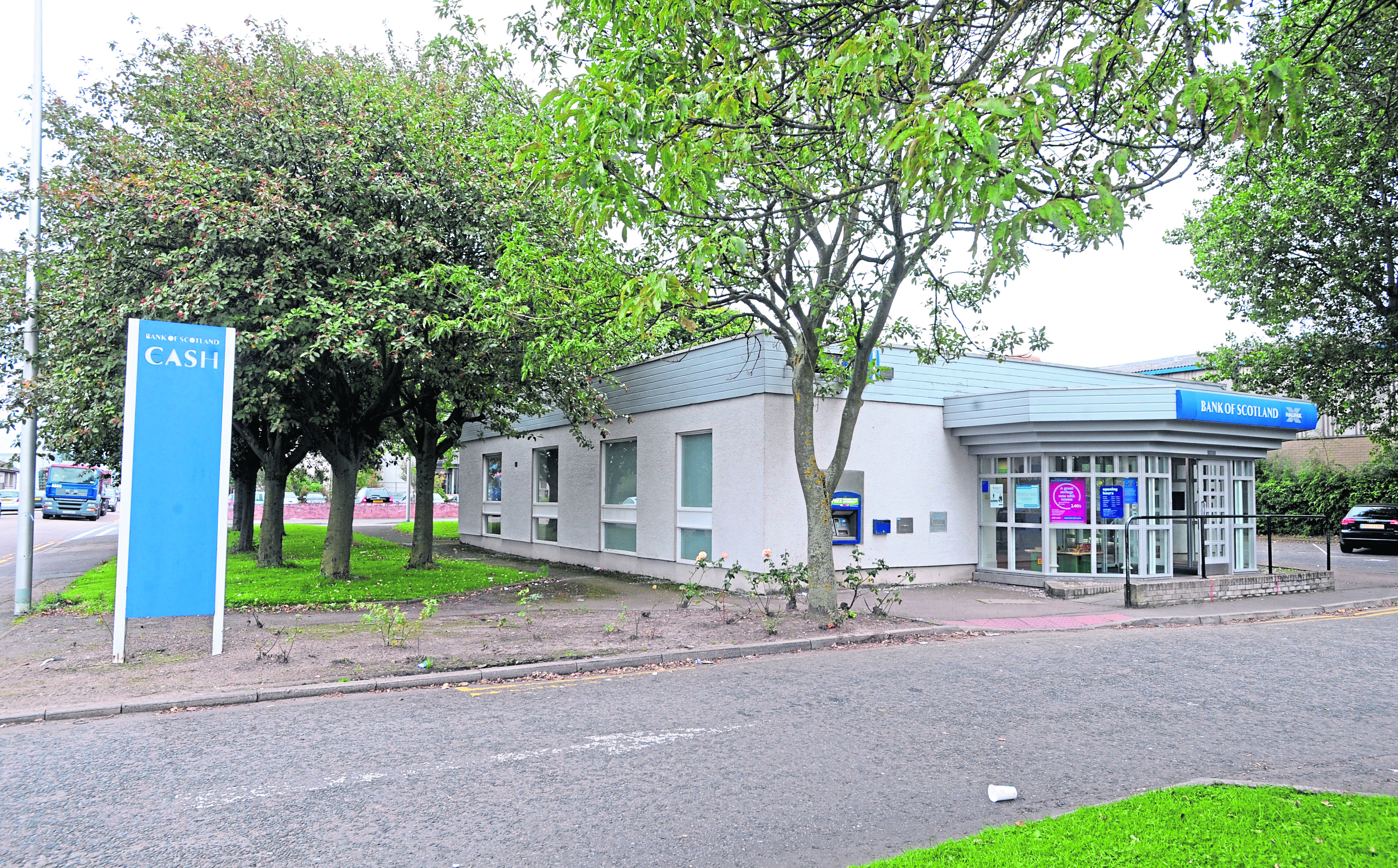 The Bank of Scotland on Greenwell Road, Tullos.