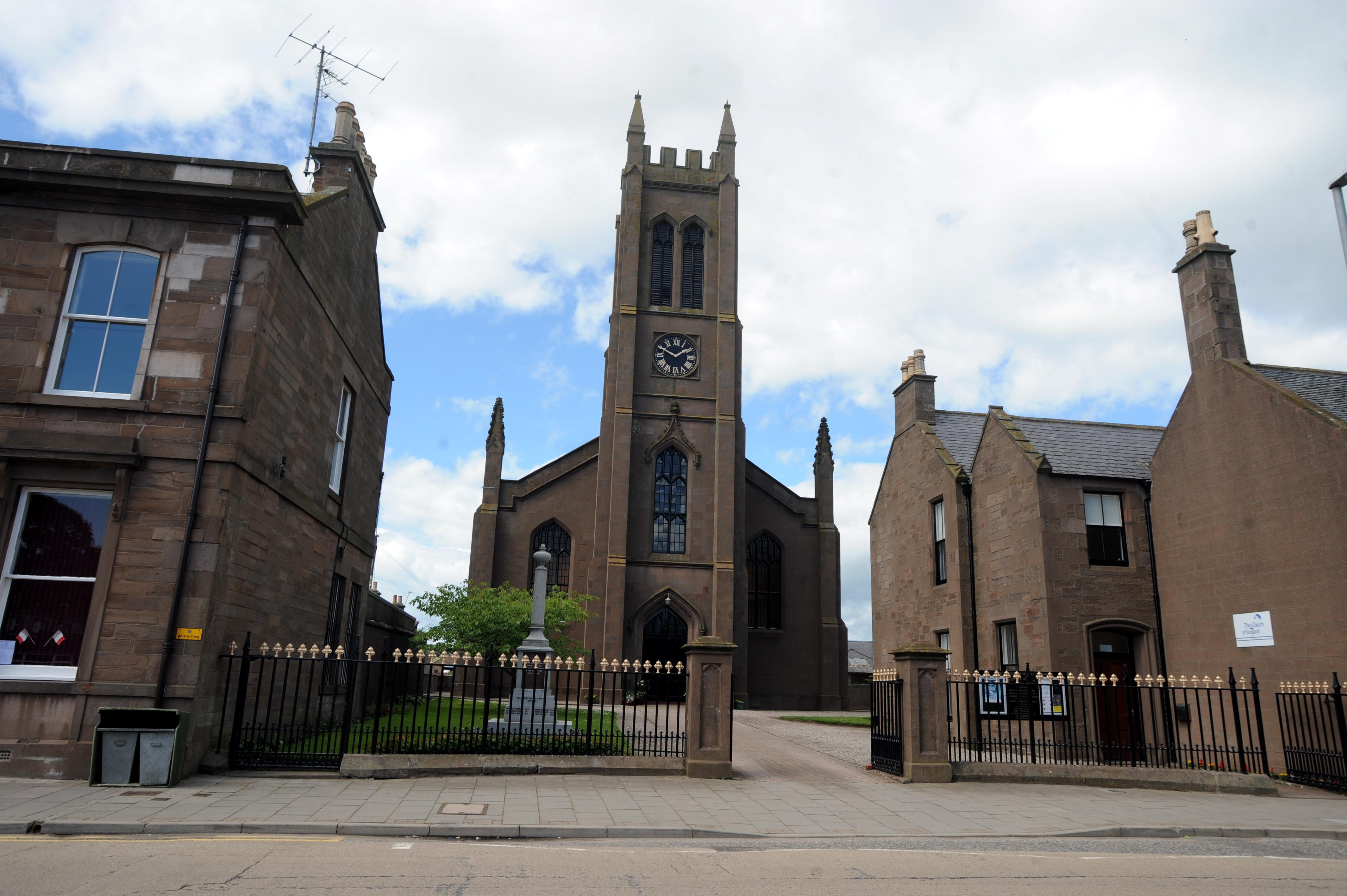 Arbuthnott and Bervie parish. Picture by Jim Irvine.