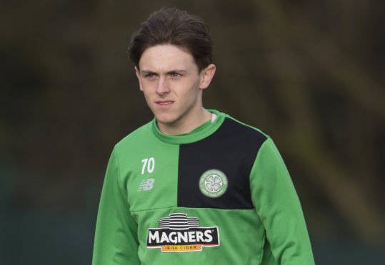 Broque Watson started as a trainee at Celtic.