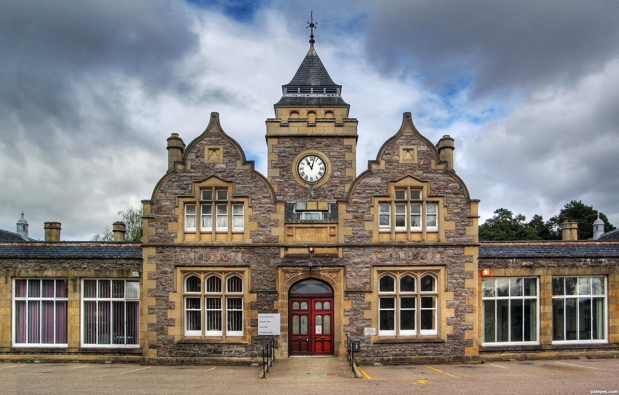 Leanchoil Hospital in Forres. By Jason Hedges.