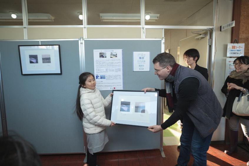 Wakana Tsuji and Dr Leslie Mabon   © Naoki Kobayashi