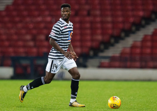 Smart Osadolor in action for Queens Park