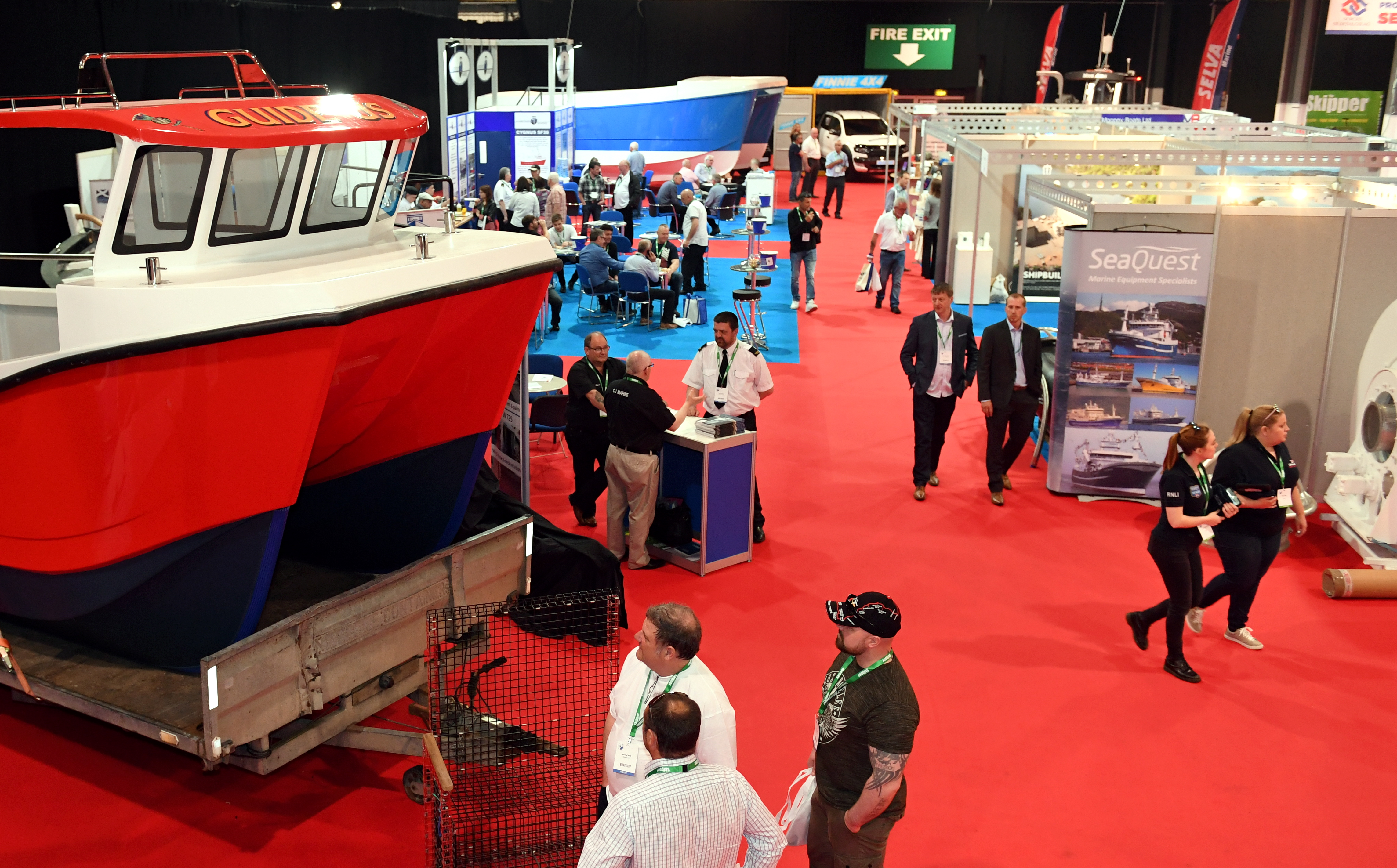 Skipper Expo at the AECC.    Pictured - GV.     Picture by Kami Thomson    26-05-17