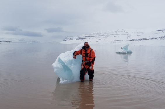 Ashton McDonald in Svalbard