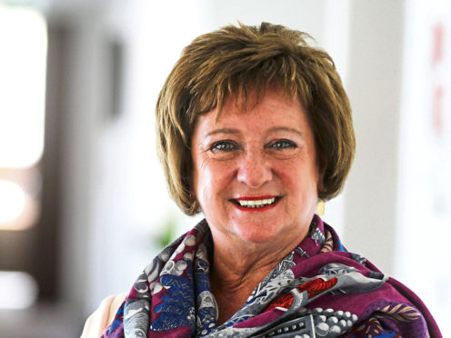 Liz Cameron OBE, Chief Executive of Scottish Chamber of Commerce.