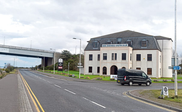 New Century House in Inverness is believed to have been chosen as the base for the new HIAL remote Air Traffic Control Centre. Picture by Sandy McCook