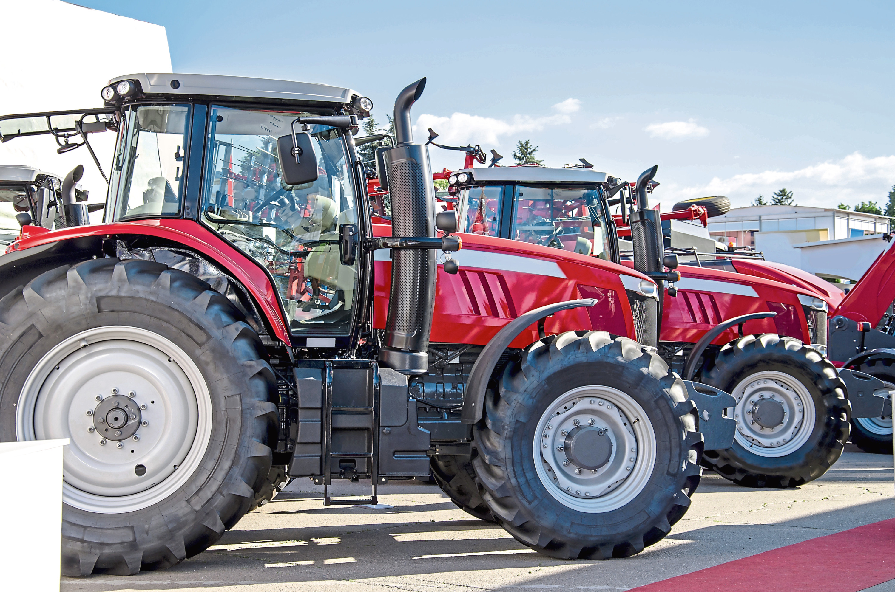 Sales of new tractors in the first four months of 2020 were at their lowest level in four years.