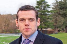 New Scottish Tory leader Douglas Ross.