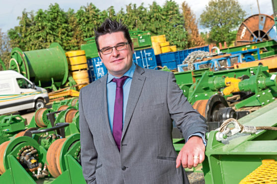 Ross Whittingham, chief executive of Flowline Specialists.