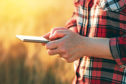 The new app could help farmers cut carbon emissions.
