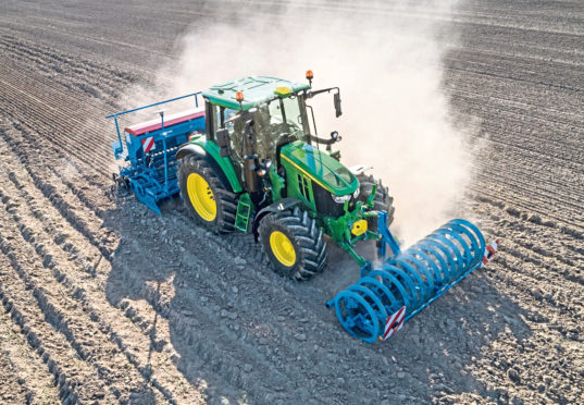 John Deere remains the most popular brand of tractors in the UK.