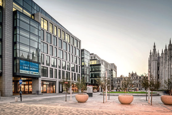 Marischal Square defies critics at 75% occupancy | Press and Journal