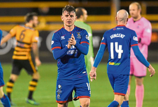Aaron Doran has been at Caley Thistle for 10 years