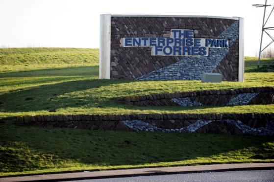 Forres Enterprise Park.