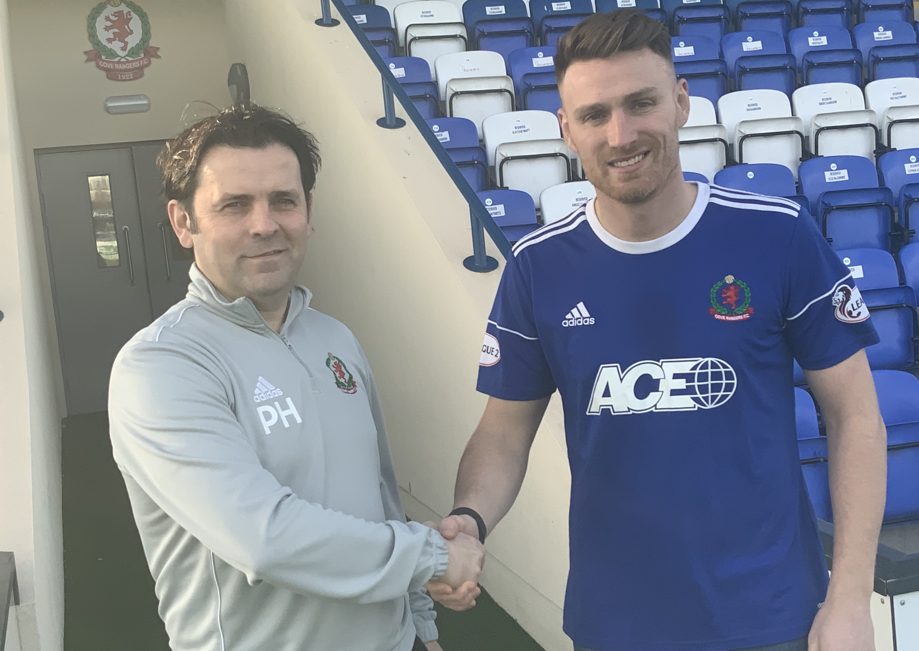 Rory McAllister joined from Peterhead in January