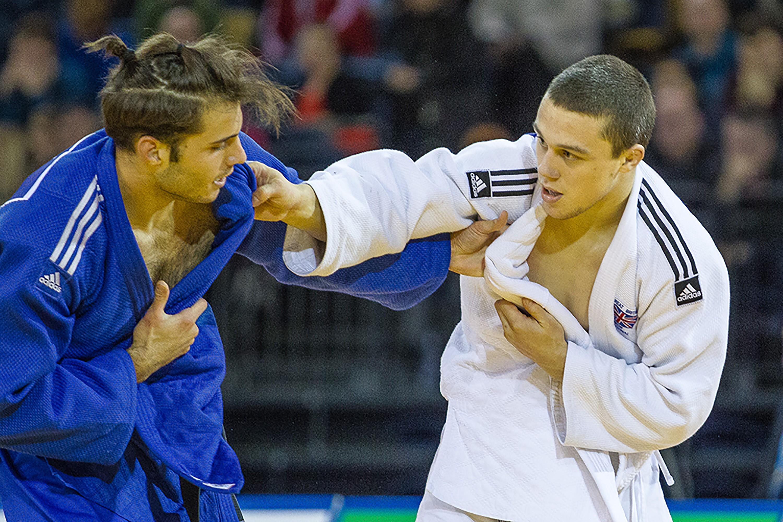Inverurie judoka Stuart McWatt.