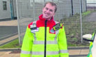 Chris Morrison from Lewis leapt into action when a fellow passenger suffered a cardiac arrest and stopped breathing.