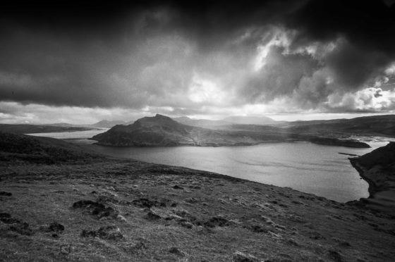 Images by Skye photographer Alastair Jackson have accompanied the words of Kenneth Steven to pay homage to the great Sorley McLean