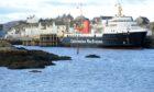 Lochboisdale harbour