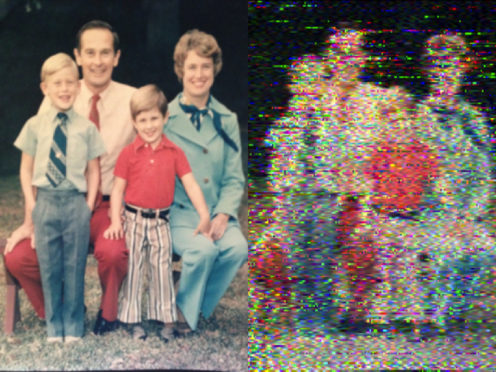 Daniela de Paulis's previous 'Visual Moonbounces' include a family photograph that NASA astronaut Charles Duke had originally left on the surface of the moon in 1972.