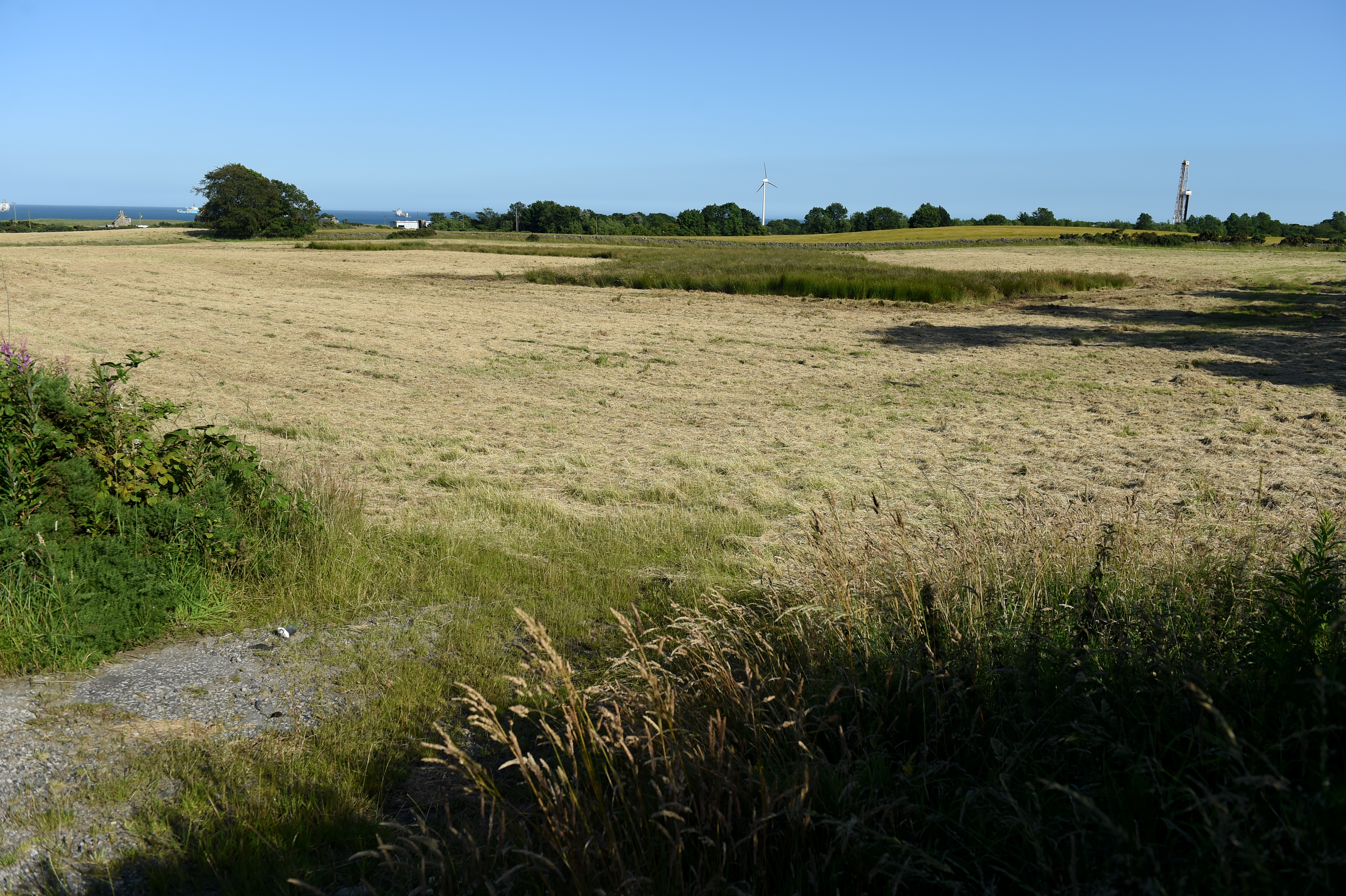 Cloverhill, Bridge of Don, where a planning application has gone in for 500 homes.