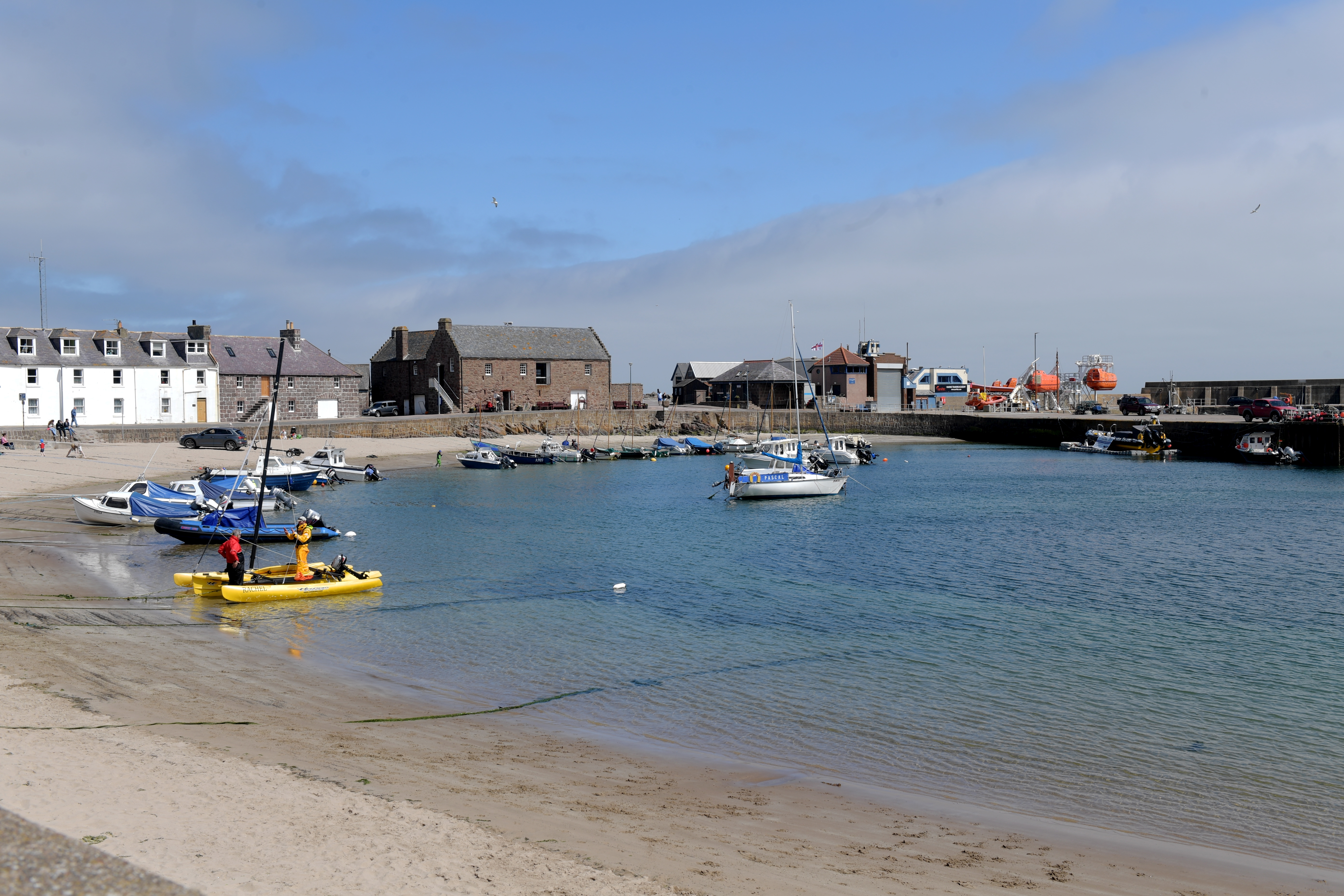 Stonehaven Harbour.  Picture by KATH FLANNERY