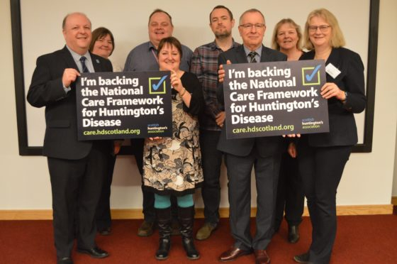 The Care Framework for Huntington's Disease is a pioneering initiative from Scottish Huntington's Association that is supported by the Scottish Government.