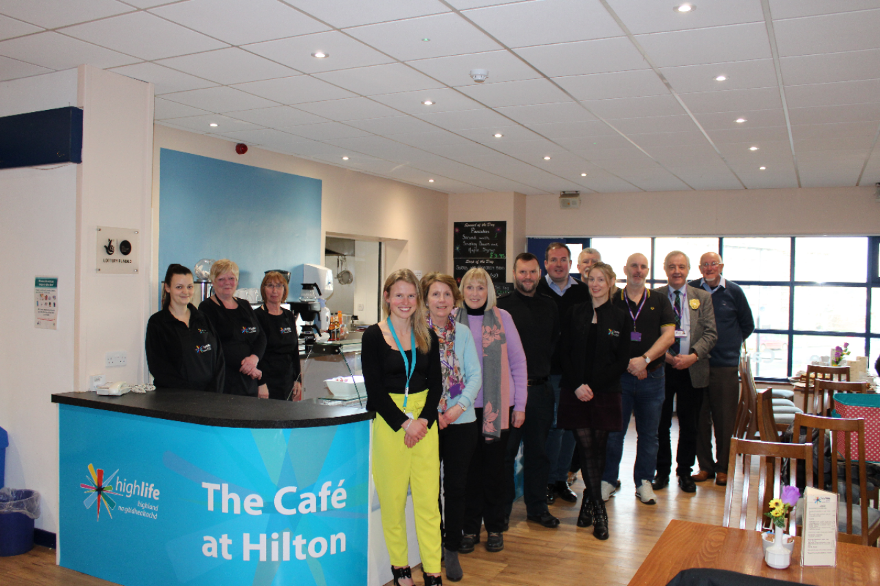 Hilton community cafe opens its doors to the public.
