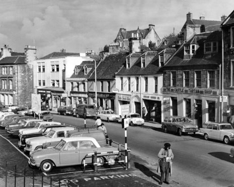 Inverness Castle Street in October 1964