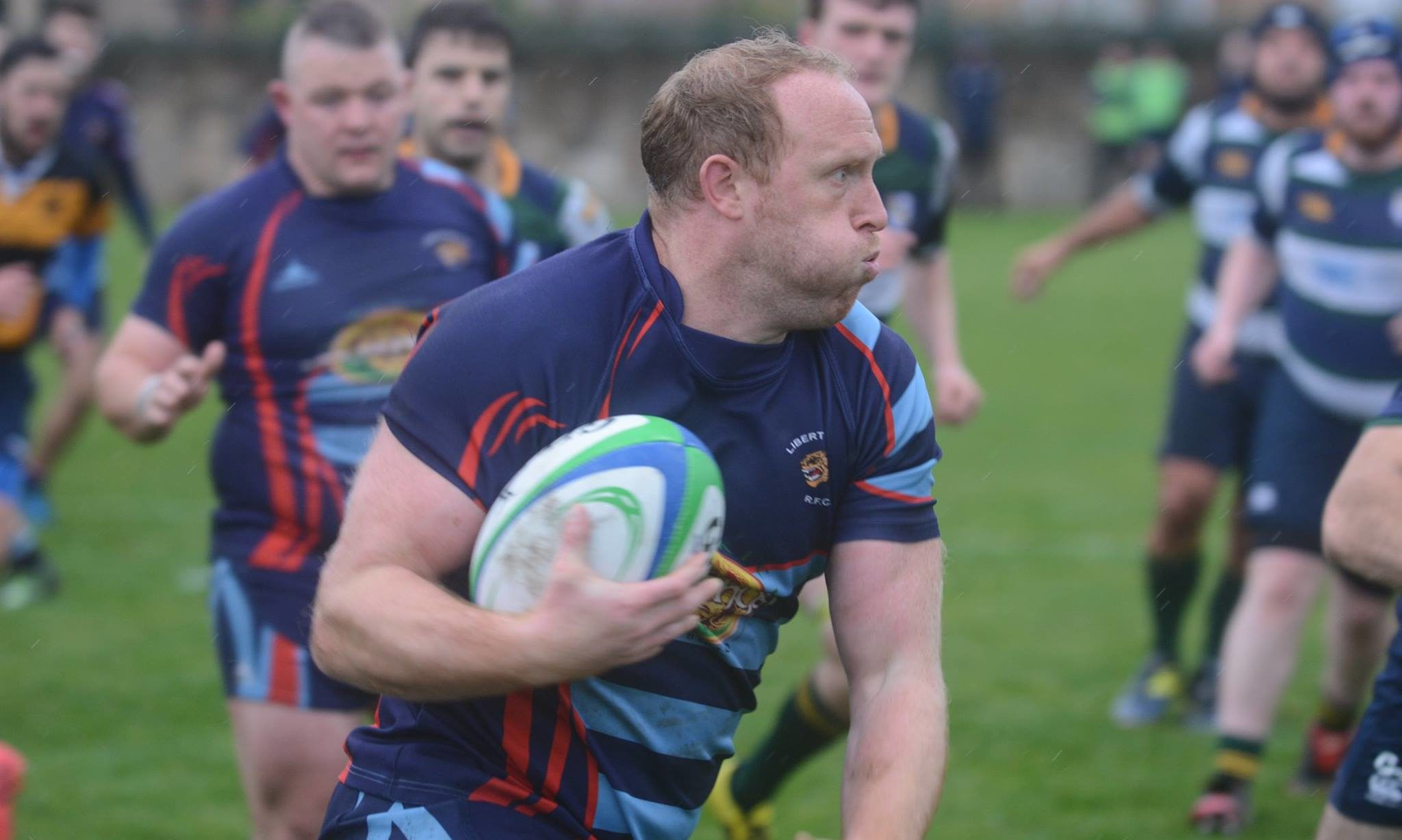Jonny Clipston plays for Liberton Rugby Club in Edinburgh