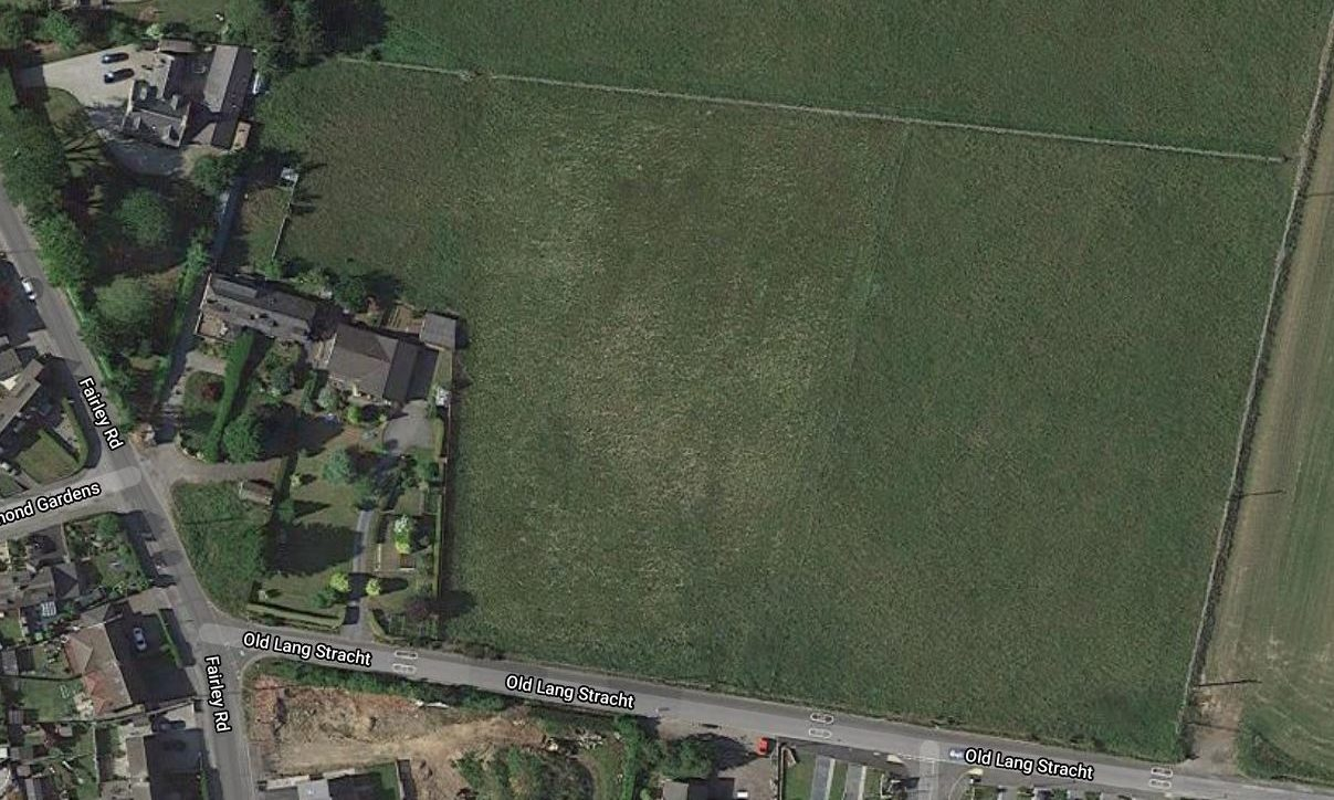Planning permission in principle has been granted for 23 homes in this field on the eastern edge of Kingswells.