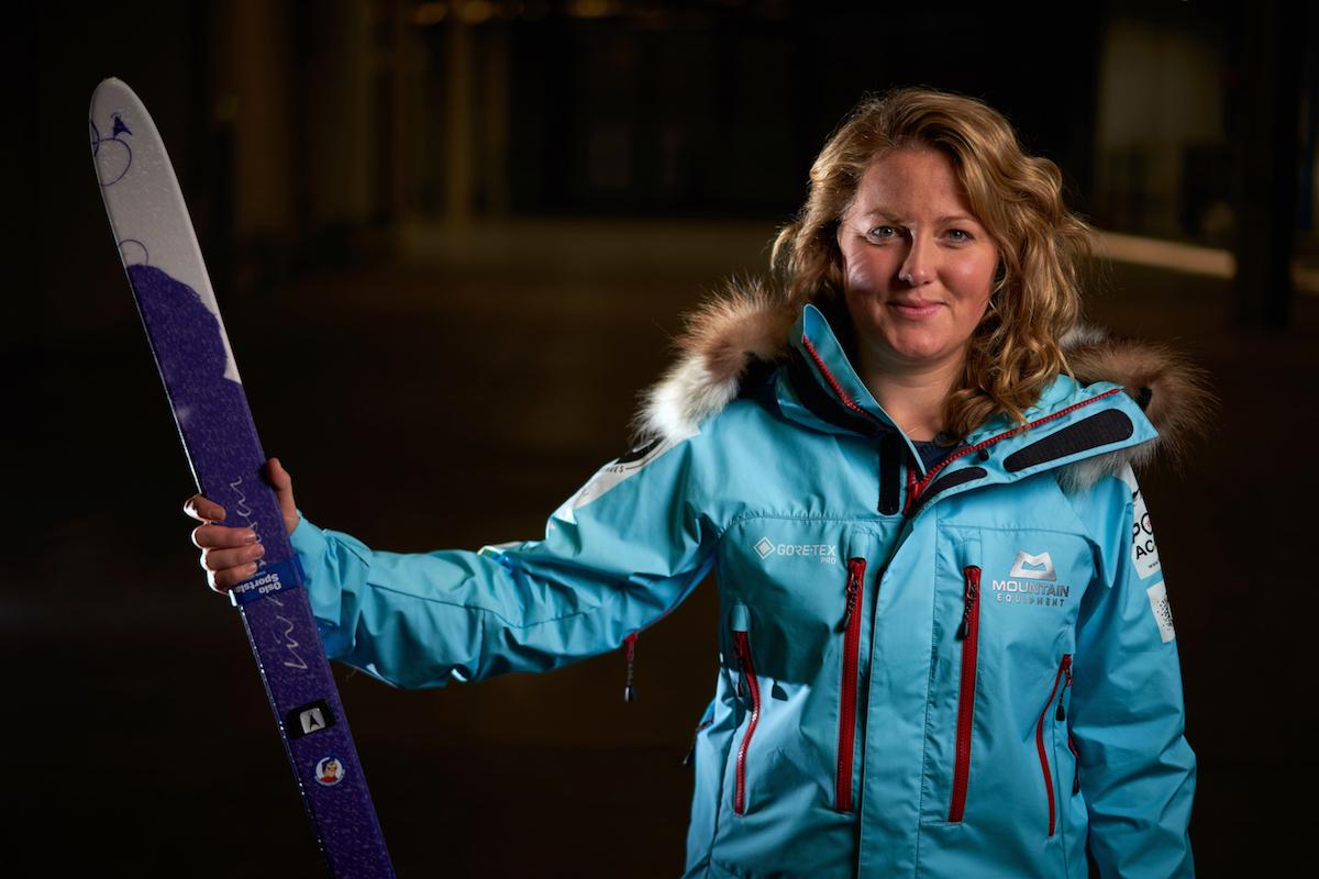 Scottish explorer Mollie Hughes. Pic: Hamish Frost.